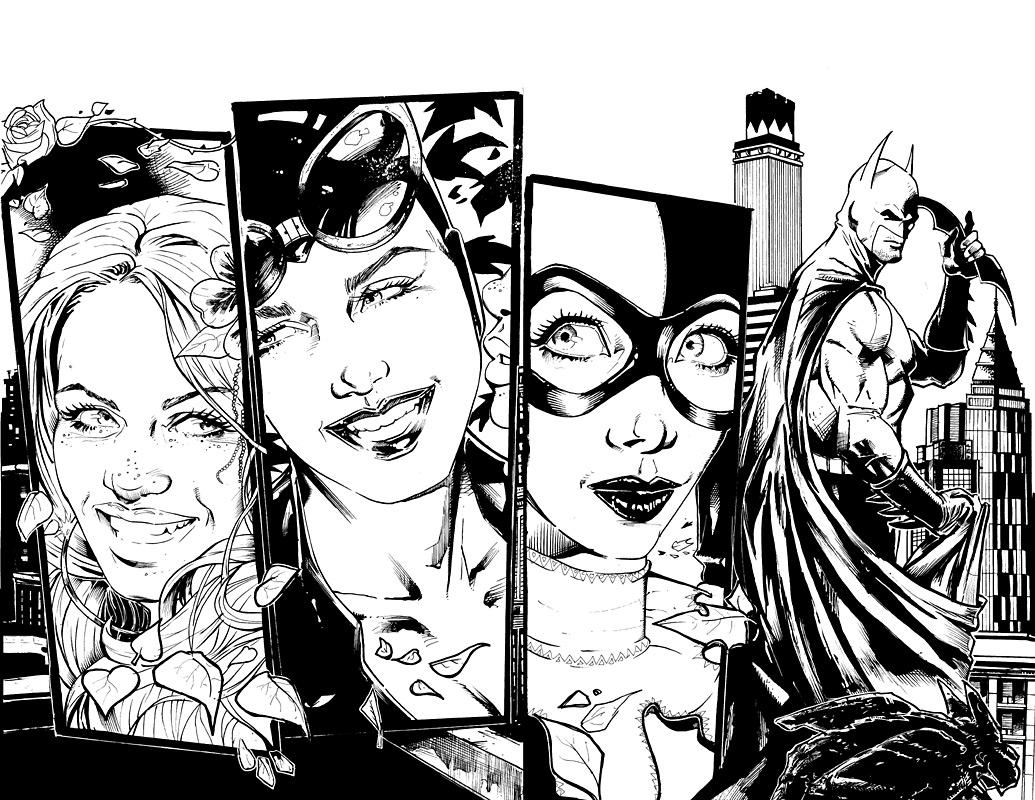 Arkham Harley Quinn Drawing: Pencil Drawings Harley Quinn Arkham City ...